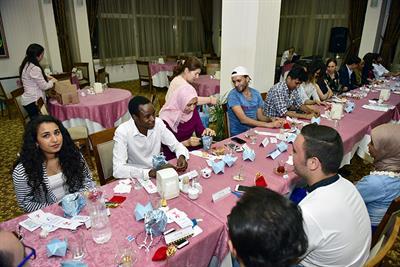 Misafir Öğrencilerimiz ile İftar Yemeği - 2038